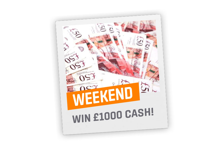 Win £500 Cash!